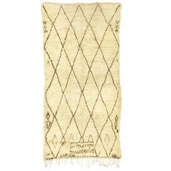 Moroccan Berber Handwoven Carpet
