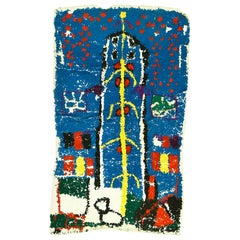 Moroccan Berber Miniature Prayer Rug