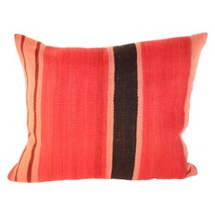 Moroccan Berber Pillow Cut from a Vintage Tribal Rug