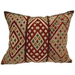 Moroccan African Berber Pillow with Tribal Designs