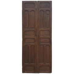 Moroccan Carved Cedar Wood Door-Double Panel Two