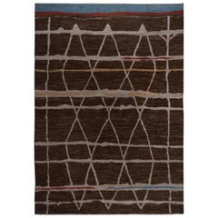 Moroccan Design Area Rug