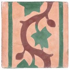 Moroccan Encaustic Cement Tile Sample