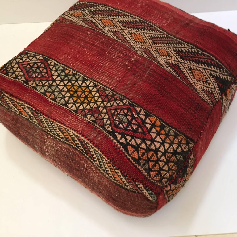 Moroccan Floor Pillows: Moroccan Floor Pillow Tribal Seat Cushion Made From A