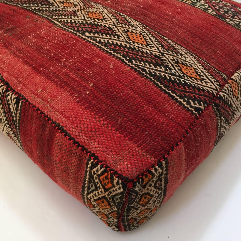 Moroccan Floor Pillow Tribal Seat Cushion Made From A