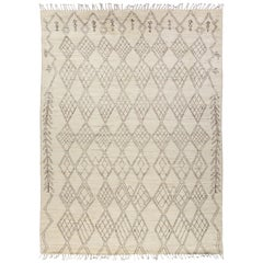 Moroccan, Hand Knotted Area Rug