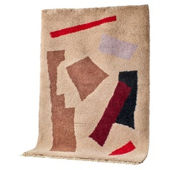 Moroccan Hand Knotted Wool Rug by Maria Jeglinska, 14 ft. x 10 ft.
