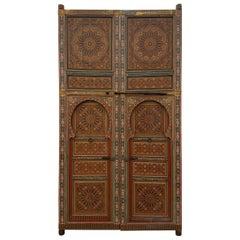 Moroccan Hand Painted Double Door