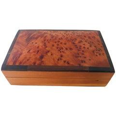 Marokkanische Handgefertigte Thuya Holz Box