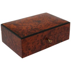 Moroccan Handcrafted Thuya Wood Jewelry Box