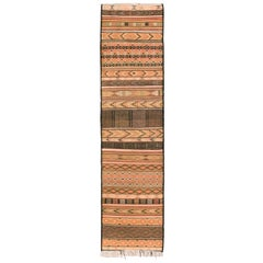 Moroccan Handwoven Zaiane Carpet