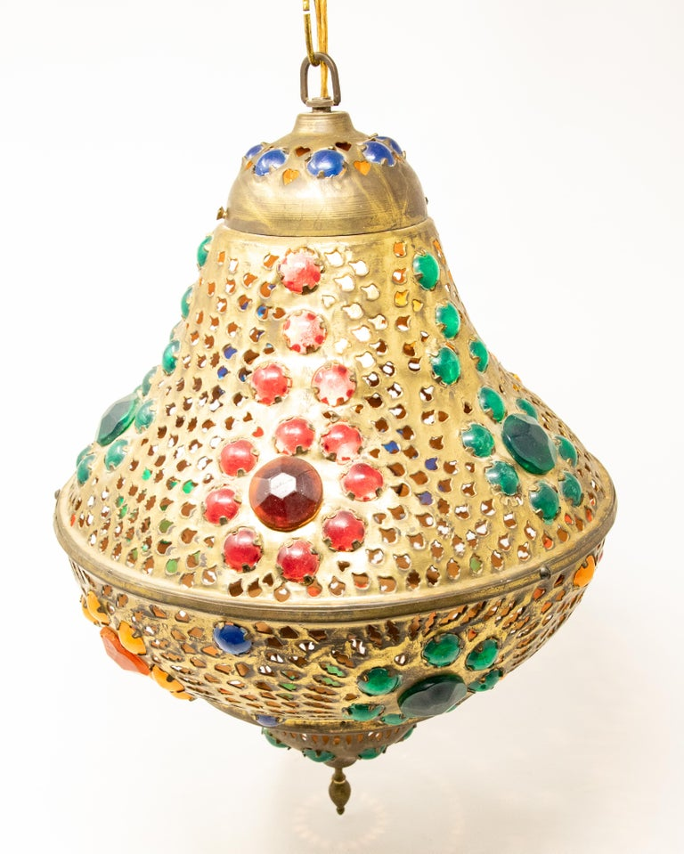 Moroccan Hanging Lamp For Sale 3