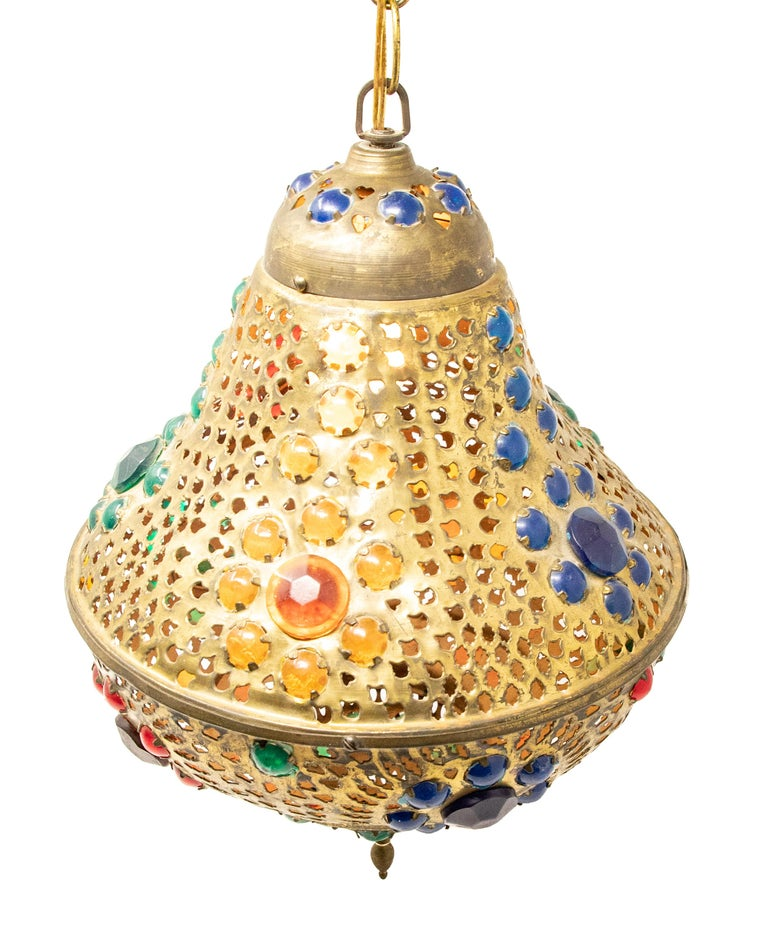 Moroccan Hanging Lamp For Sale 2