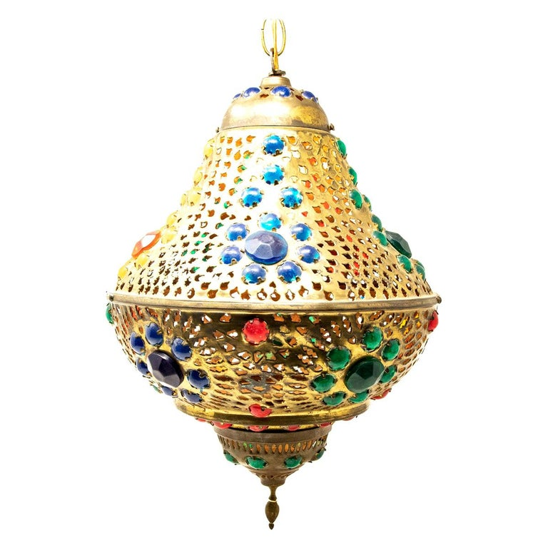 Moroccan Hanging Lamp For Sale