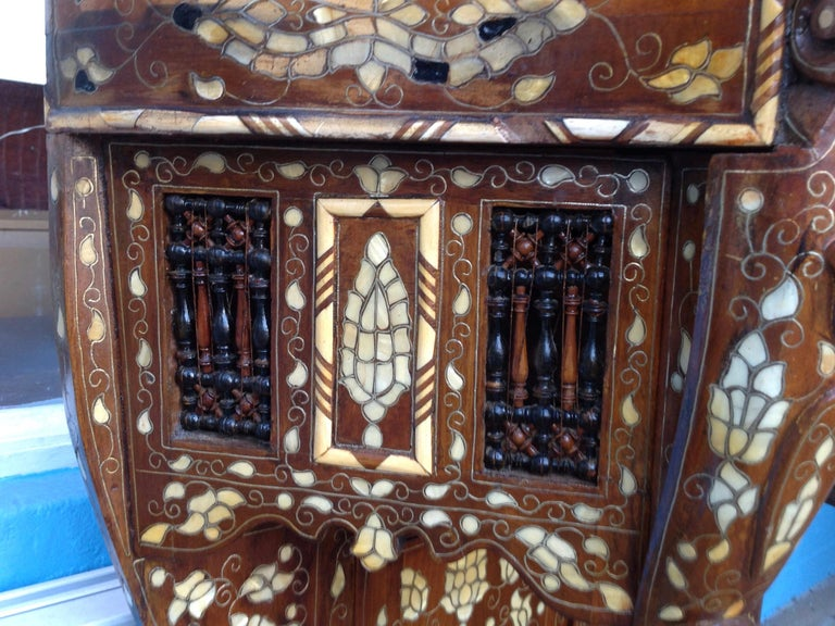 Moroccan Inlaid Console For Sale 5
