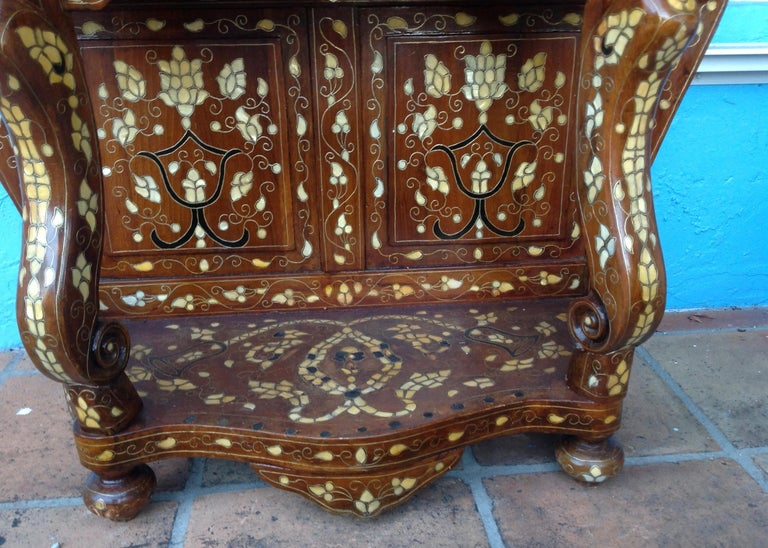 Moroccan Inlaid Console For Sale 3