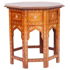 Moroccan Inlaid Occasional Table or Stand