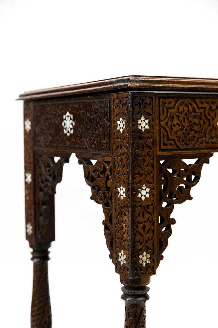 Moroccan Inlaid Vitrine For Sale 7