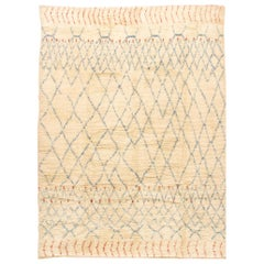 Moroccan Inspired Handwoven Rug, 9' x 12'2