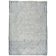 Moroccan Kilim Natural Wool