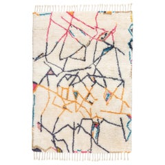 "Moroccan Inspired Knot Rug Limited Edition ""Positions"" by Johanna Boccardo"