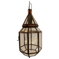 Moroccan Lantern Clear Glass