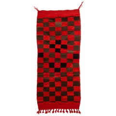 Moroccan Little Checked CHICHAWA Rug
