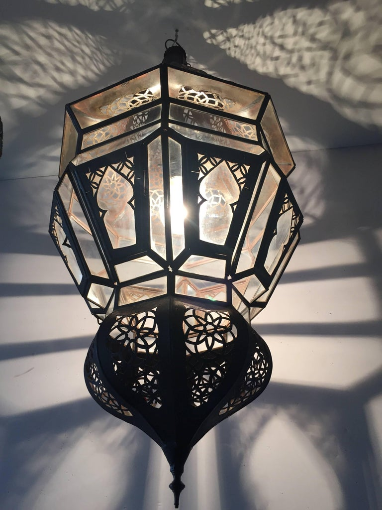 Moroccan Moorish Hanging Pendant Light For Sale 4