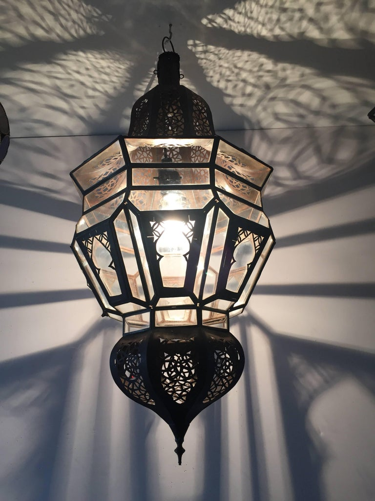 Moroccan Moorish Hanging Pendant Light For Sale 1