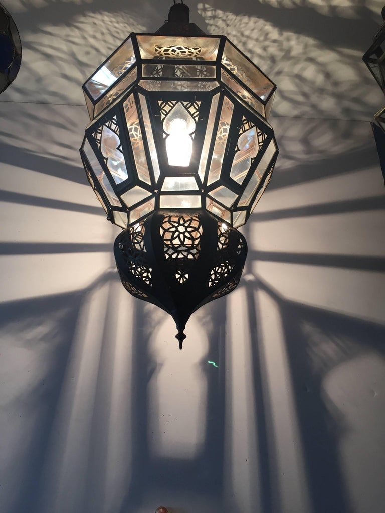 Moroccan Moorish Hanging Pendant Light For Sale 2