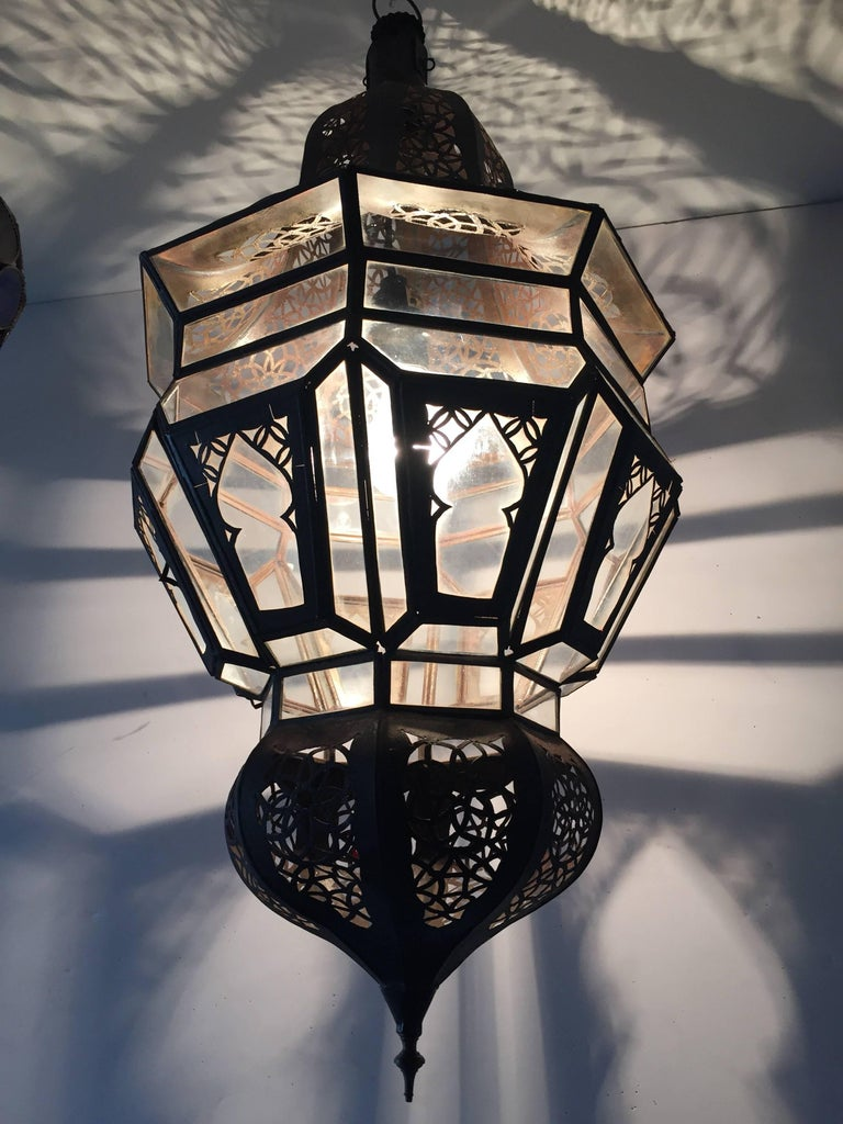 Moroccan Moorish Hanging Pendant Light For Sale 3