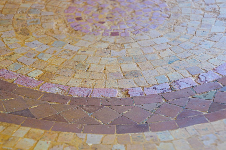 Moroccan Mosaic Stone Table Indoor or Outdoor For Sale 5