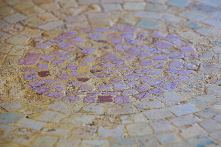 Moroccan Mosaic Stone Table Indoor or Outdoor For Sale 7