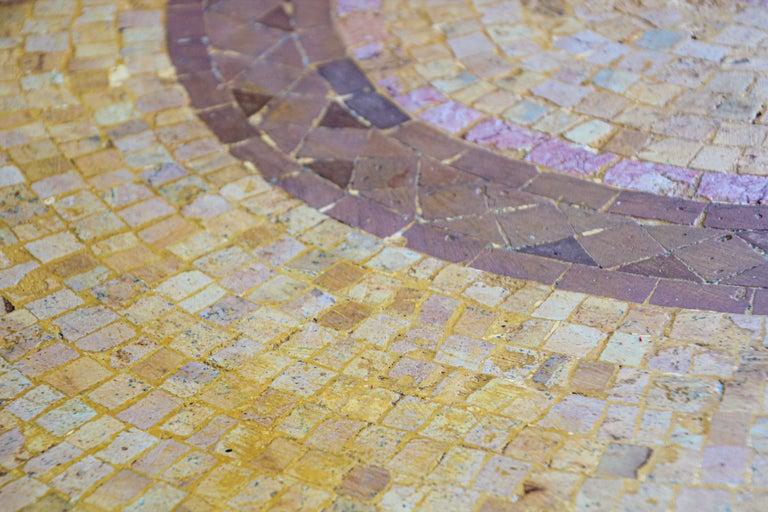 Moroccan Mosaic Stone Table Indoor or Outdoor For Sale 9