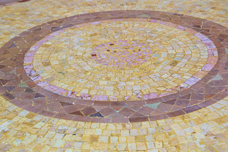 Moroccan Mosaic Stone Table Indoor or Outdoor For Sale 2