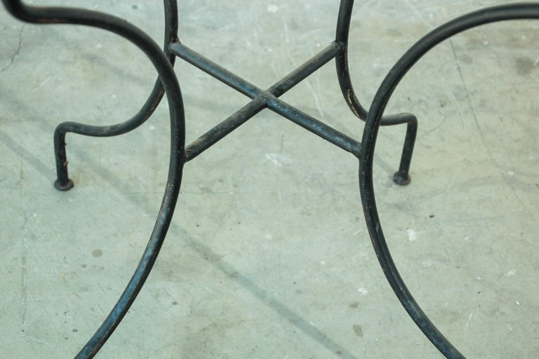 Moroccan Mosaic Tile Bistro Table For Sale 10