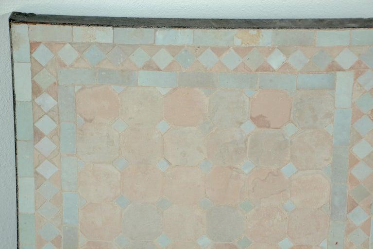 Moorish Moroccan Mosaic Tile Bistro Table For Sale