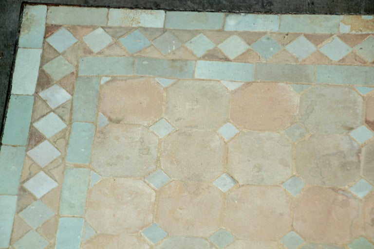 Moroccan Mosaic Tile Bistro Table For Sale 1