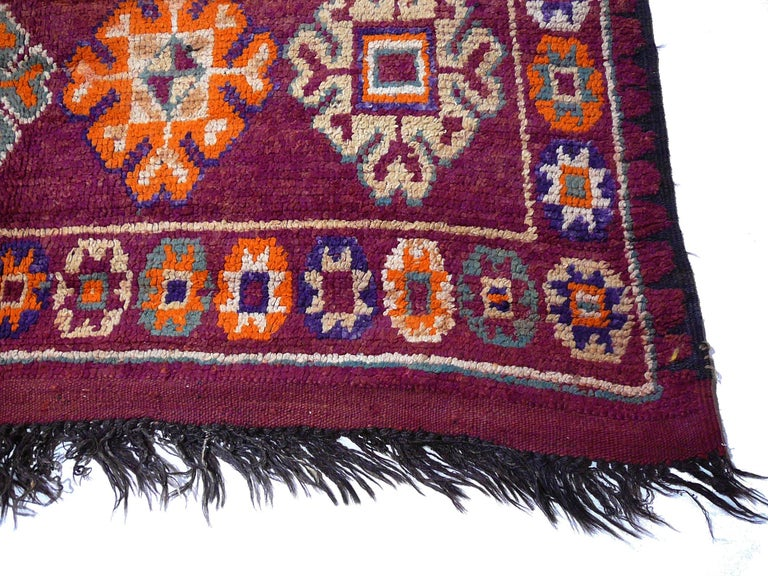 Moroccan / North African Vintage Berber Rug For Sale 1