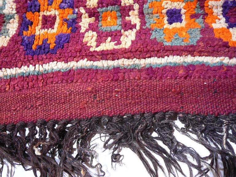 Moroccan / North African Vintage Berber Rug For Sale 2