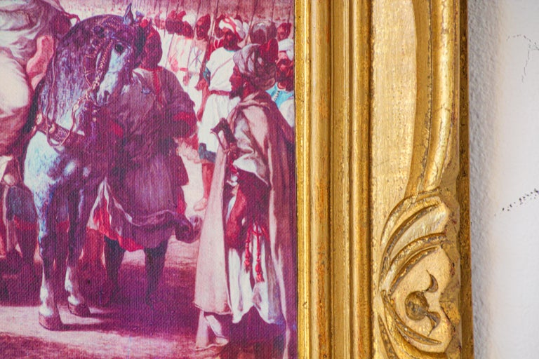Moroccan Orientalist Framed Giclee For Sale 4