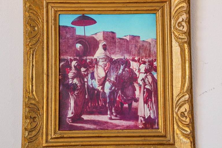 Moroccan Orientalist Framed Giclee For Sale 7