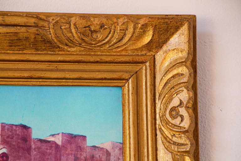 Moroccan Orientalist Framed Giclee For Sale 2