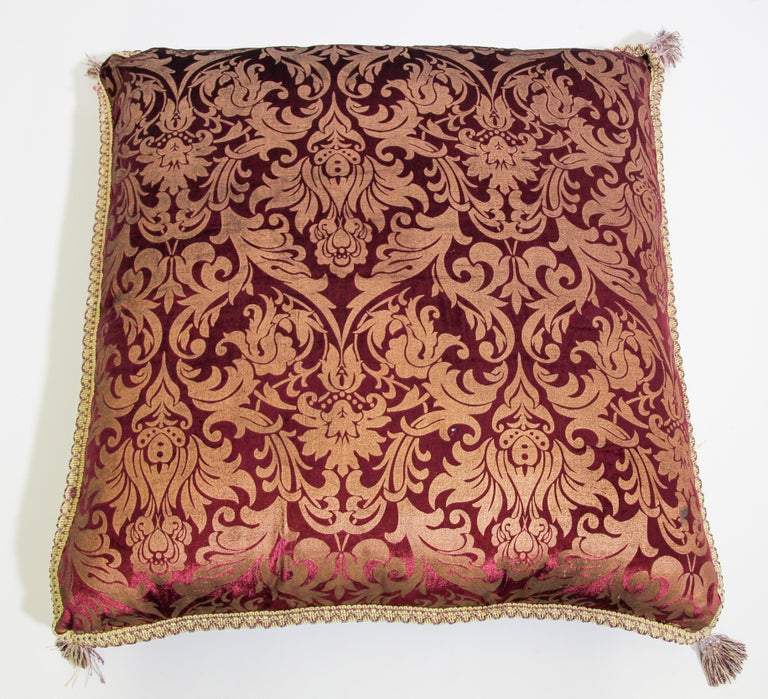 Moroccan Oversized Floor Pillow Cushion For Sale 3