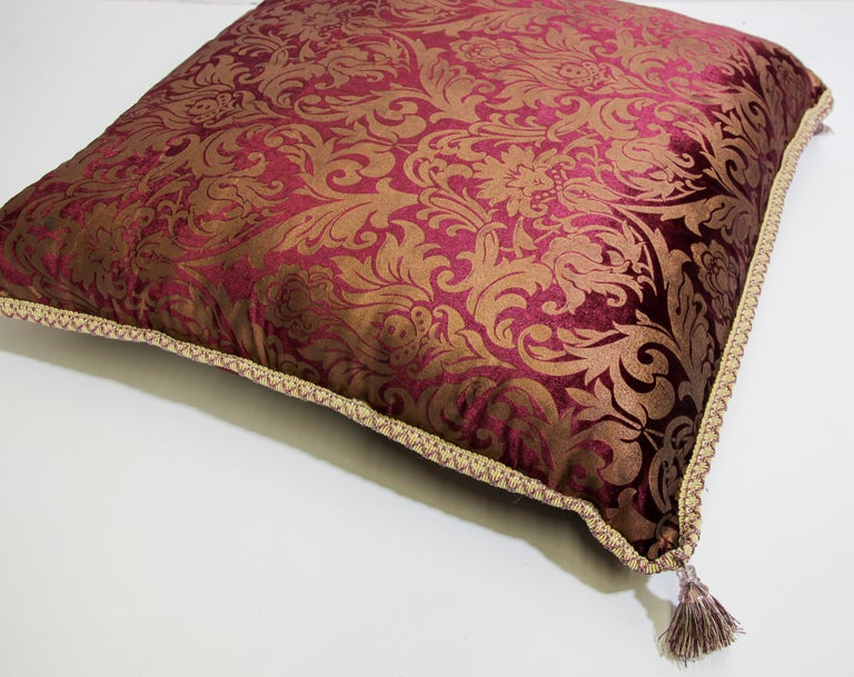 Moroccan Oversized Floor Pillow Cushion For Sale 5