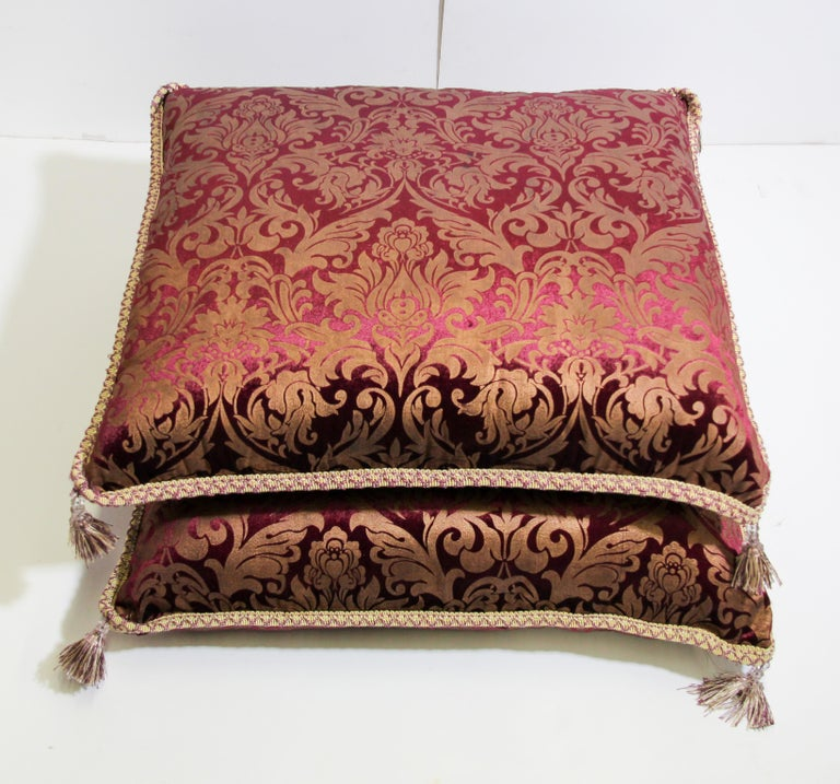Moroccan Oversized Floor Pillow Cushion For Sale 6