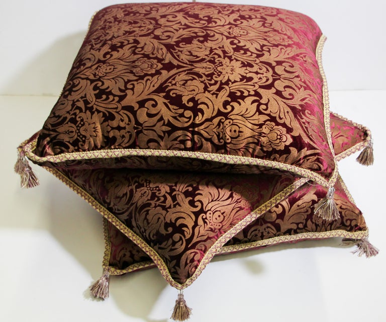 Moroccan Oversized Floor Pillow Cushion For Sale 10