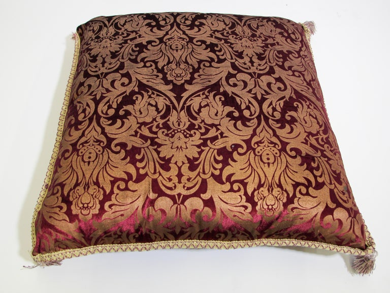 Moroccan Oversized Floor Pillow Cushion For Sale 2