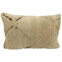 Moroccan Pillow Beni Ourain pillow from Morocco Berber Cushion