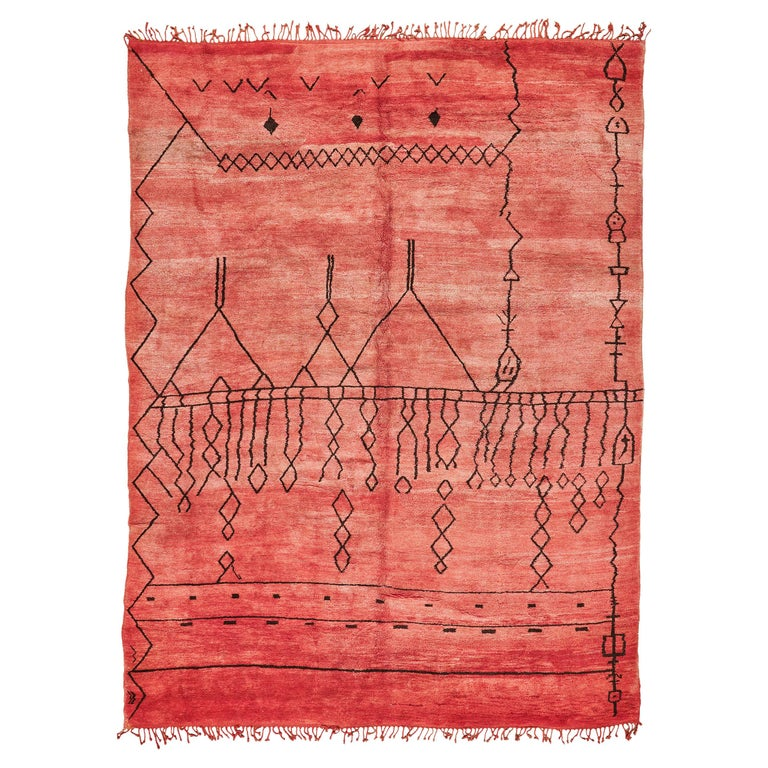 Moroccan Middle Atlas tribal rug, 2020, offered by Mehraban Rugs